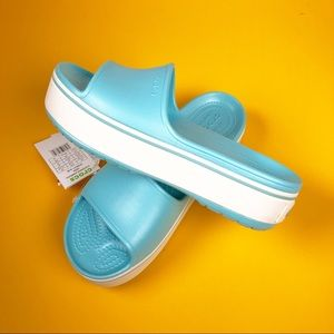 Crocs Platform Slides